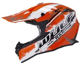 Wulfsport Off Road Pro MX Helmet - Orange