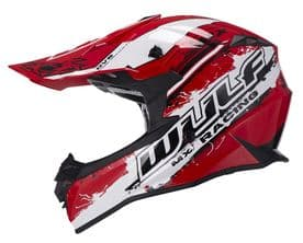Wulfsport Off Road Pro MX Helmet - Red