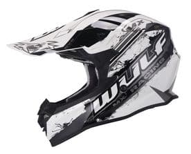 Wulfsport Off Road Pro MX Helmet - White