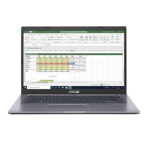 "Asus P1411CJA Laptop 14"" FHD i5-1035G1 8GB 256GB SSD No Optical USB-C Windows 10 Pro"