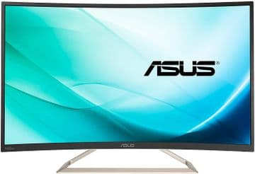 "Asus VA326N-W 31.5""  Monitor LED - Black"