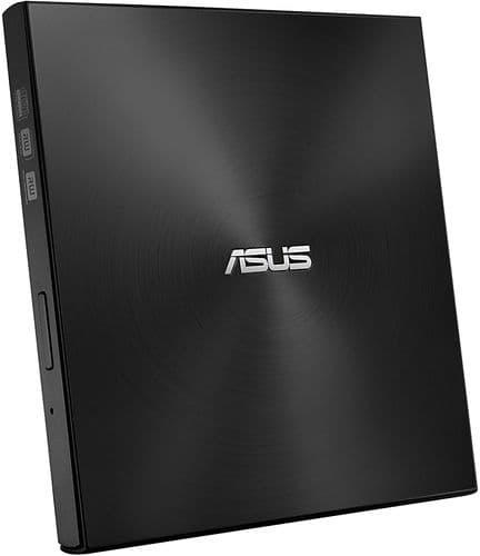 Asus (ZenDrive U7M) External Slimline DVD RWriter, USB, 8x, Black, M-Disc Support, Cyberlink Power2