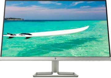 "HP 27F  27"" Full HD  LED Flat Black, Silver computer monitor"