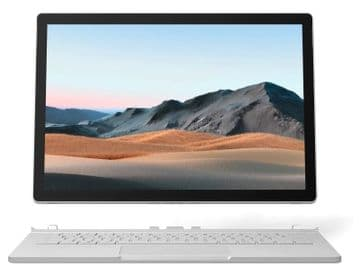 "Microsoft Surface Book 3 Core i5 8GB  256 SSD 13.5"" Iris Pro Graphics Windows 10 Pro - Platinum"