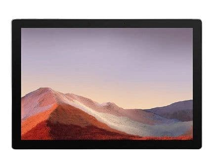 Microsoft Surface Pro 7 12.3in Platinum - Intel Core i3, 4GB RAM, 128GB SSD