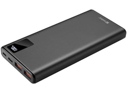 Sandberg (420-58) PD 20W 10000 Powerbank, 10000mAh, USB-C & USB-A, Aluminium