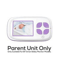 BT Smart Video Baby Monitor Replacement Parent Unit (2.8 Inch Screen) No Power Supply Included
