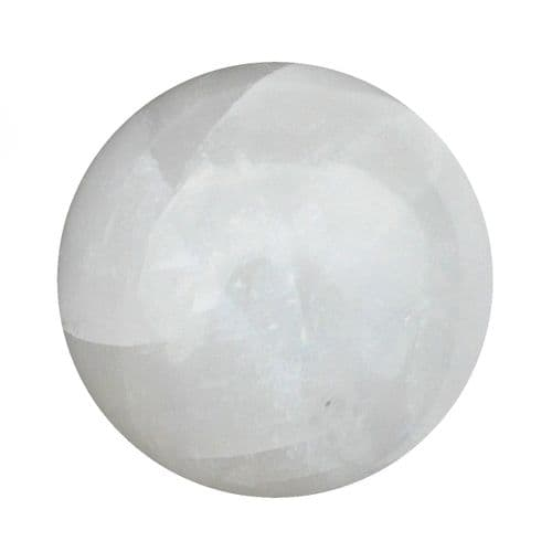 Calcite Crystal Ball for Fortune Telling & Divination 80mm 700g CH15