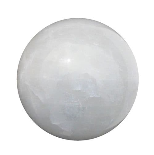 Calcite Crystal Ball for Fortune Telling & Divination 80mm 750g CH20