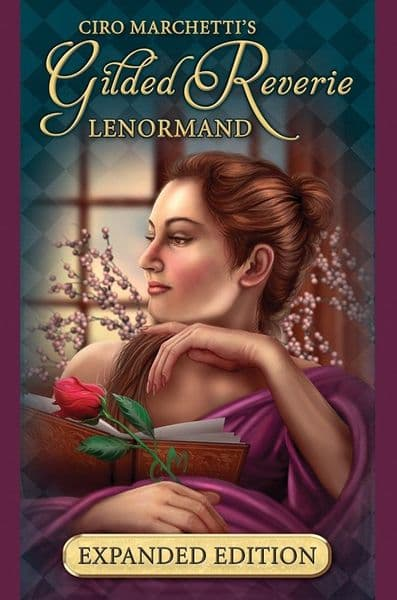Gilded Reverie Lenormand Oracle Cards Expanded Edition