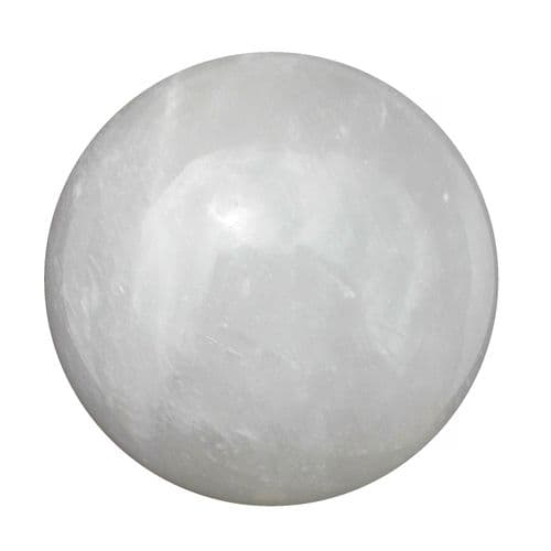 Large Calcite Crystal Ball for Fortune Telling & Divination 90mm 1.1kg CH3