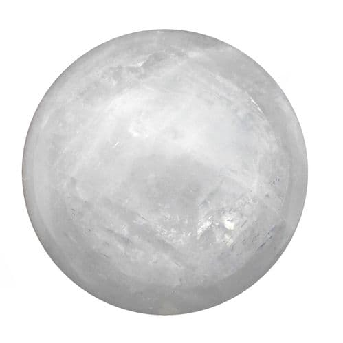 Large Calcite Crystal Ball for Fortune Telling & Divination 91mm 1.1kg CH2