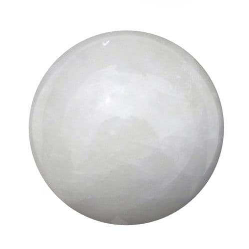 Large Calcite Crystal Ball for Fortune Telling & Divination 92mm 1.1kg CH19