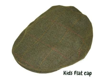 Children`s tweed flat cap