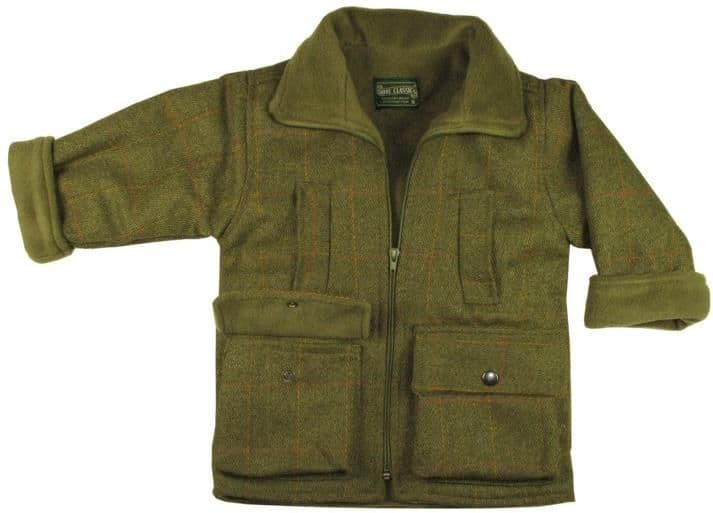 childrens tweed jacket / coat boys