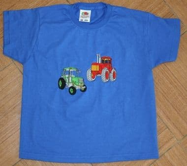 Pair of tractors tshirt