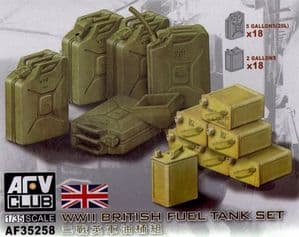 AF35258 British WWII Fuel and water tank Set