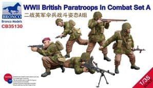 CB35130 WWII British Paratroops In Combat Set A