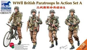 CB35177 WWII British Paratroops in Action Set A
