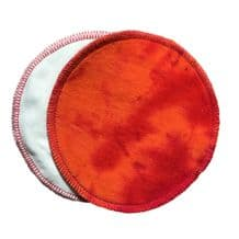 Red Moon organic cotton velour breast pads