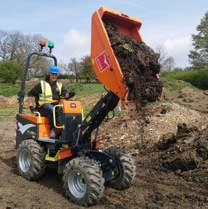 1 Tonne High Lift Dumpers (For Hire)