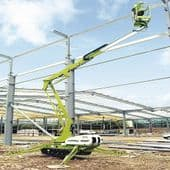 12m Tracked Twin Mast Telescopic Boom Lifts - Nifty TD120T (For Hire)
