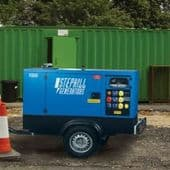 20 to 67 kVA Quiet Running 3-Phase Road Towable Generators