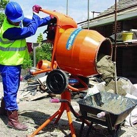 4/3 Tip-Up Cement Mixers (For Hire)
