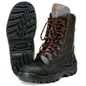 Stihl RANGER Leather Chain Saw Boots - UK Size: 6½  (00008833440)