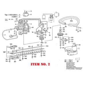 Armature with Fan - 240V (Bosch p/n. 2604010517)