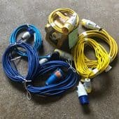 Extension Leads & Power Splitter Boxes (For Hire)