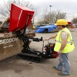 Pedestrian Tracked Dumpers (For Hire)