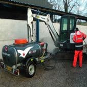 Road Towable Bowser Pressure Washer (For Hire)