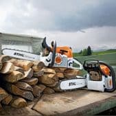 Stihl Petrol Chainsaws for Agriculture and Landscaping