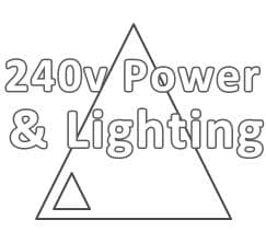 240v Power & Lighting