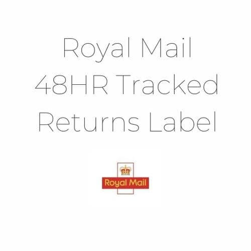 48HR Tracked Royal Mail Returns Label