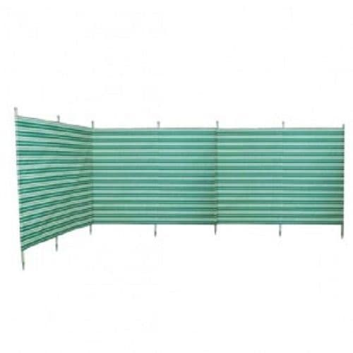 Blue Diamond Windbreak 7 Pole Green Stripe