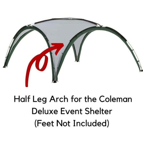 Coleman® Deluxe Event Shelter 1/2 Leg Arch Replacement Pole - Red