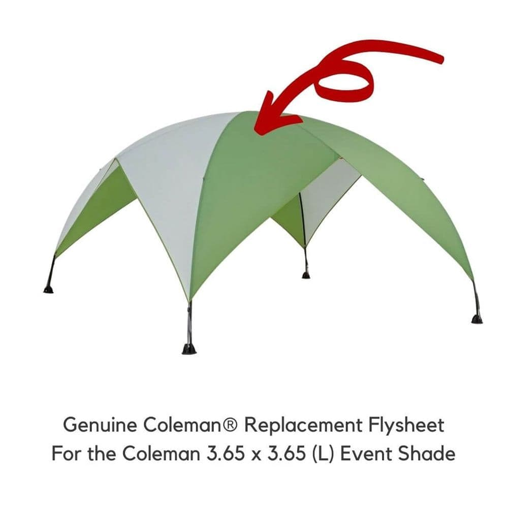 Coleman Event Shade Replacement Flysheet L 3.65 x 3.65
