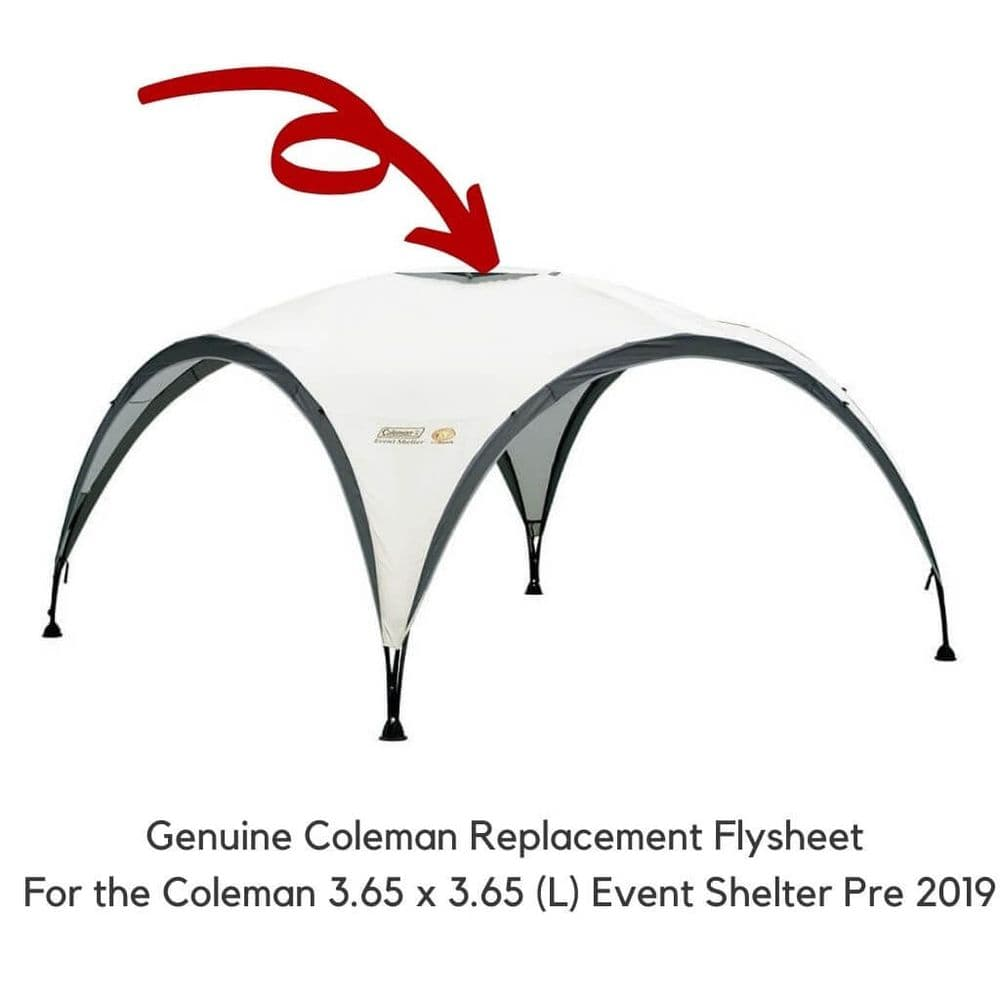 Coleman Event Shelter 3.65 x 3.65 Replacement Flysheet (2018)