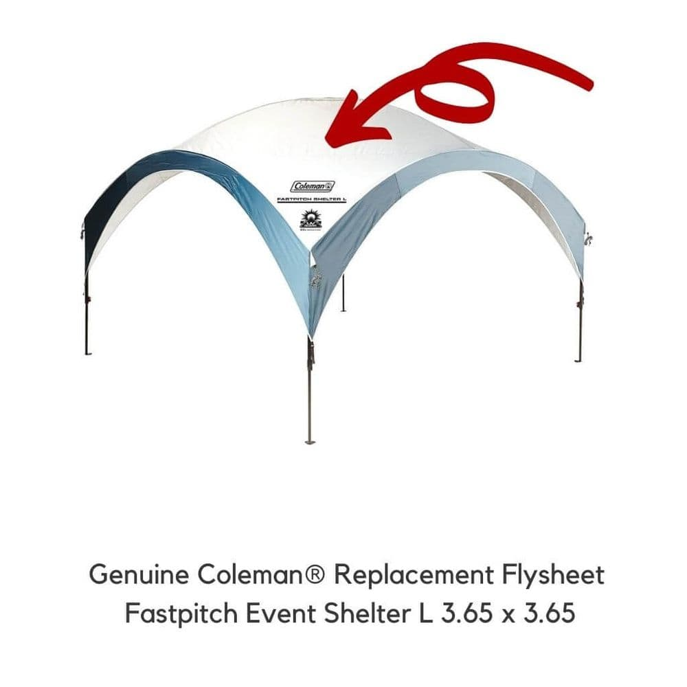 Coleman® Fastpitch Event Shelter L Replacement Flysheet