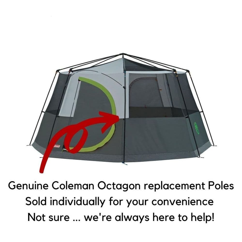 Coleman® Octagon Replacement Poles