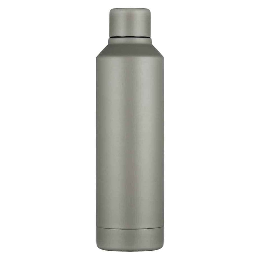 Ecoffee Hardback Vacuum Bottle Hot/Cold 500ml Grey
