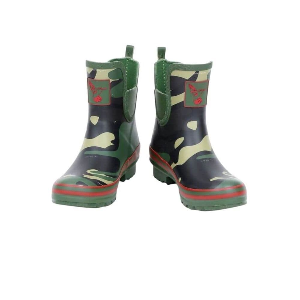 Evercreatures  Camouflage Ankle Wellington Boots