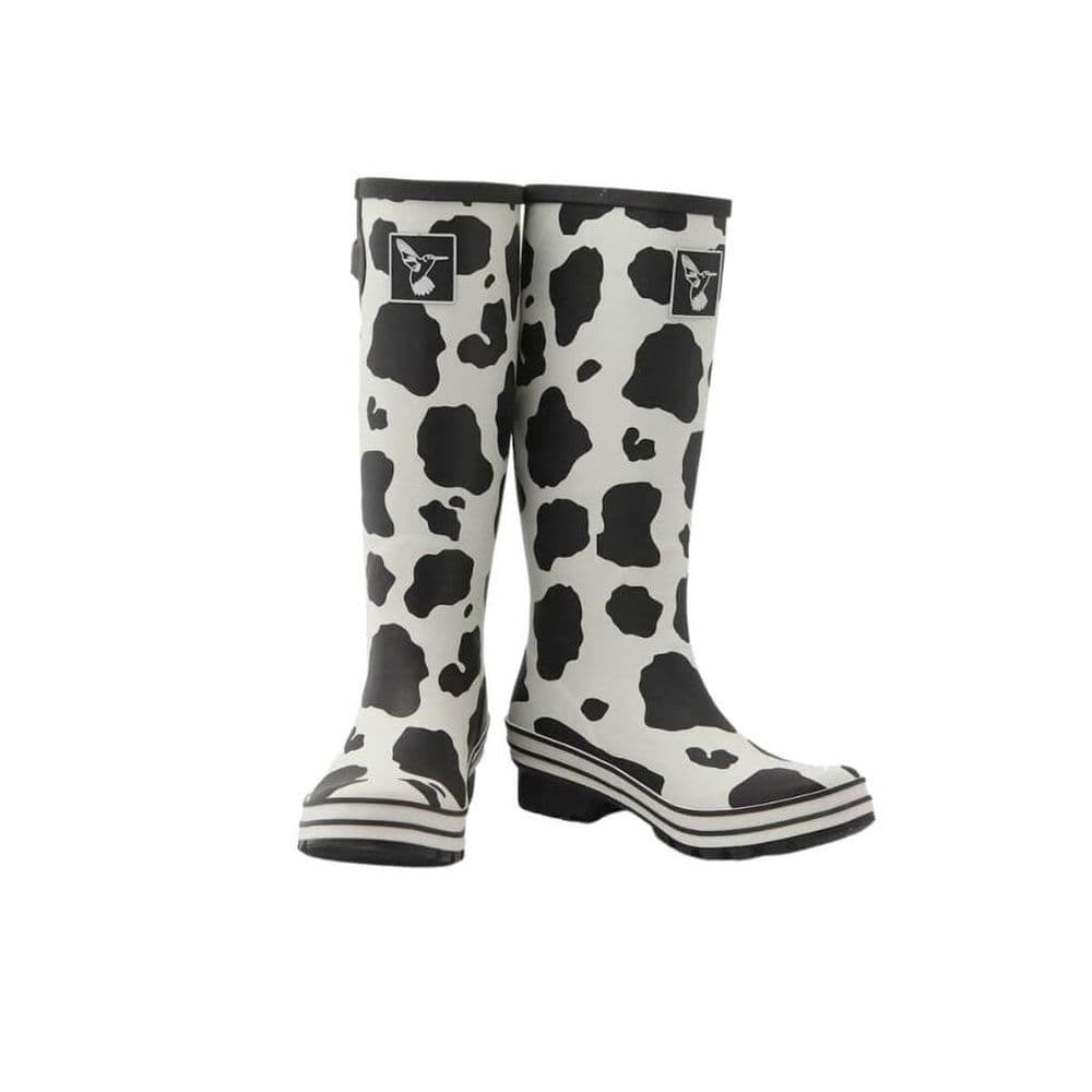 Evercreatures Cow Tall Wellington Boots