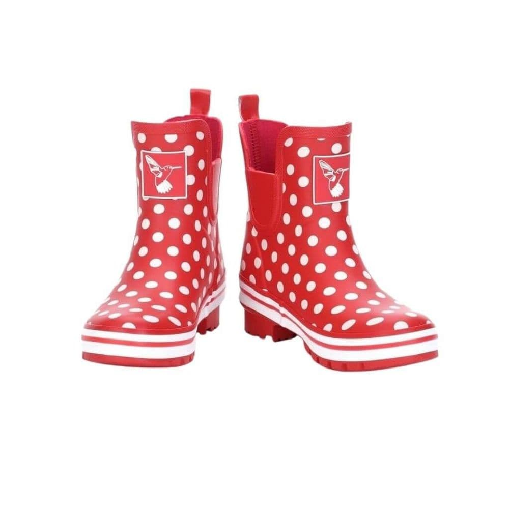 Evercreatures Polka Dot Ankle Wellington Boots