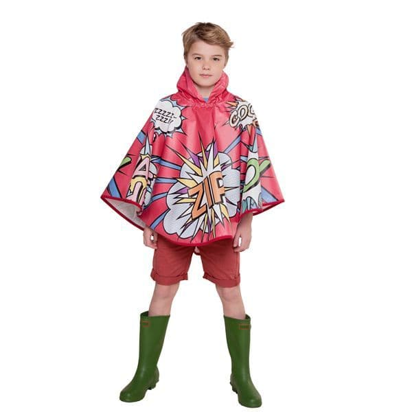 FieldCandy Designer Kids  Poncho -  Top of The Pops