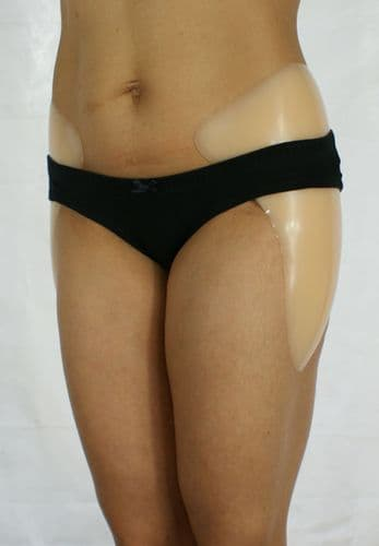 Large Stick-On Silicone Hip Enhancers | Hour Glass Figure