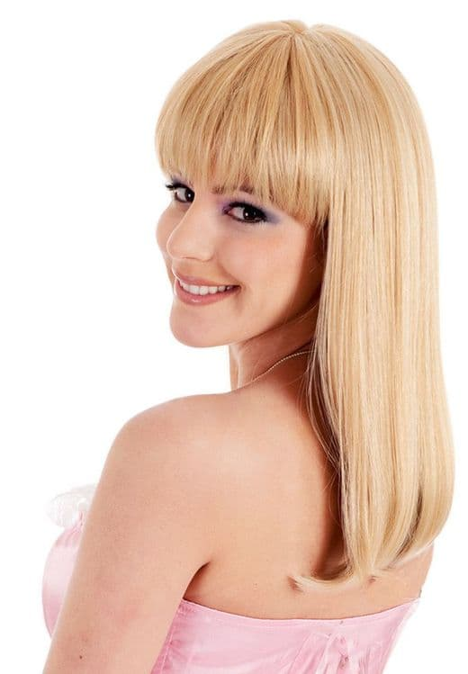 Straight Hair Styled Wig