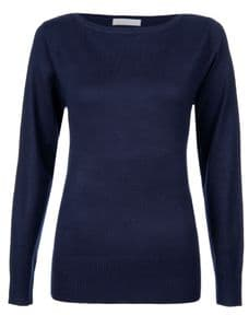 Women's Slash neck Jumper